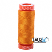 Aurifil 50 Cotton Thread - 2145 (Yellow Orange)